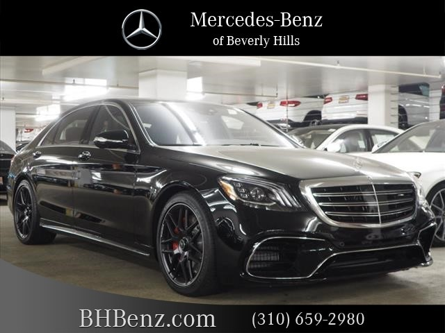 Mercedes Benz 4Matic >> New 2019 Mercedes Benz S Class Amg S 63 Long Wheelbase 4matic