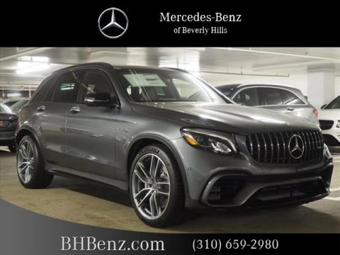 New 2019 Mercedes-Benz GLC AMG® GLC 63 SUV