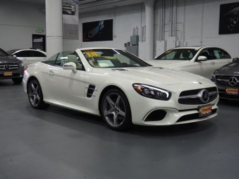 Certified Pre-Owned 2018 Mercedes-Benz SL SL 550