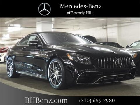 New 2019 Mercedes-Benz S-Class AMG® S 63 Coupe